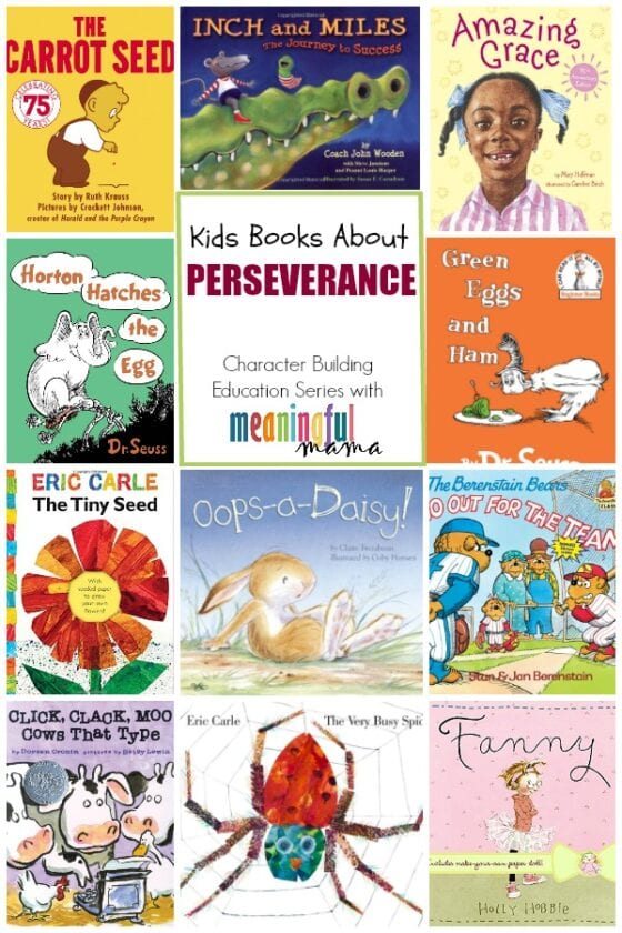Books for Kids About Perseverance