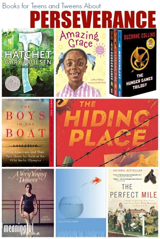 Books for Tweens and Teens About Perseverance