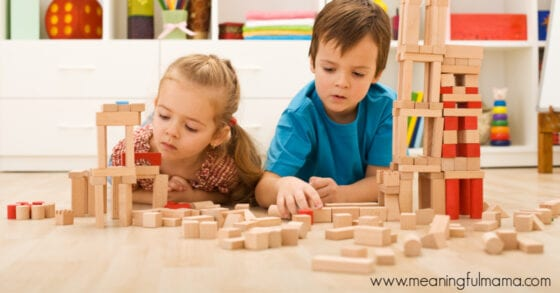 Teaching Kids Perseverance by Building a Tower