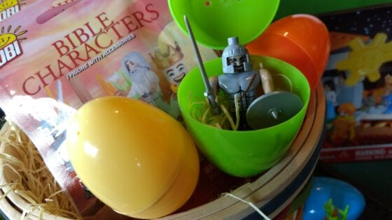 Scripture Stackers are a. Unique Christian Easter Basket Ideas for Kids
