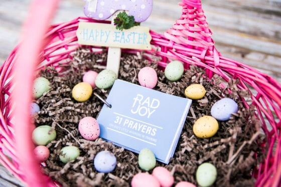 Unique Christian Easter Basket Ideas for Kids - scripture cards