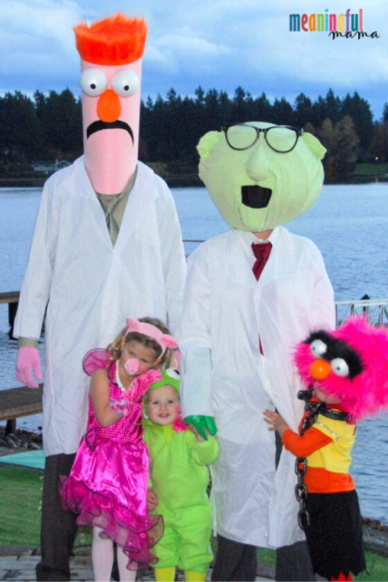 DIY Family Muppets Halloween Costumes