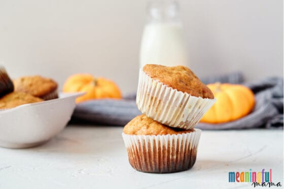Easy and Delicious Pumpkin Spice Walnut Muffins