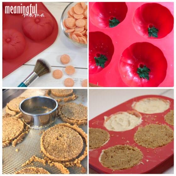 How to Make Mini Pumpkin Cheesecakes