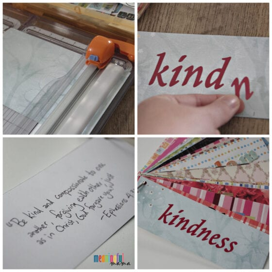HOW TO MAKE A WORD RING FOR KINDNESS - CHARACTER BUILDING ACTIVITY