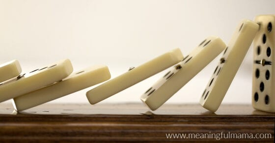 Object Lesson for Kindness - The Domino Effect