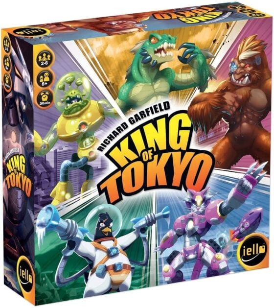Best Family Strategy Board Games for 2020 King of Tokyo