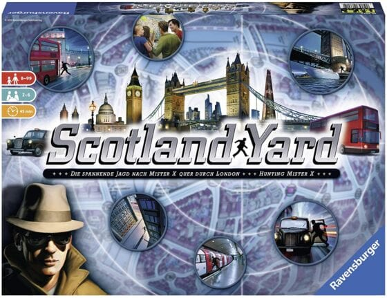 Best Family Strategy Board Games for 2020 Scotland Yard