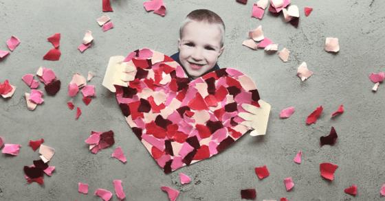 Mosaic Heart Craft