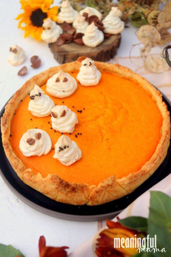The Best Halloween Pumpkin Pie Recipe